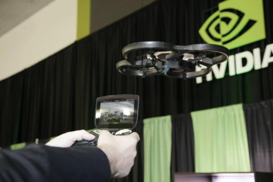 Project Shield als Steuerung für die AR Drone