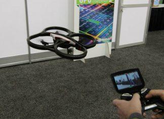 AR Drone gesteuert mit Project Shield von Nvidia
