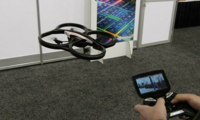 AR Drone & Nvidia Project SHIELD -