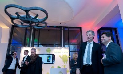 AR Drone im Googleplex Paris gelandet -