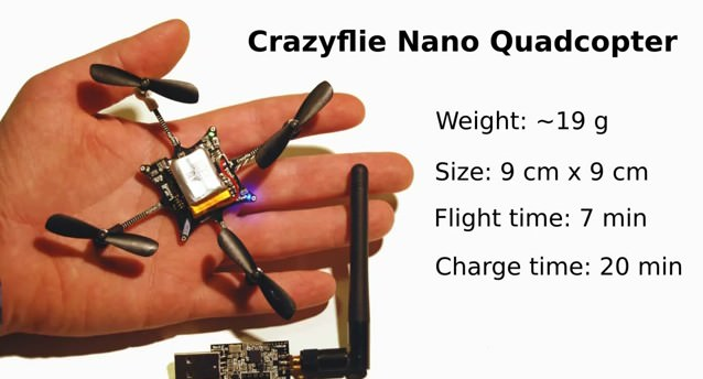 Crazyflie: Mini Quadrocopter zum Selbstbau -