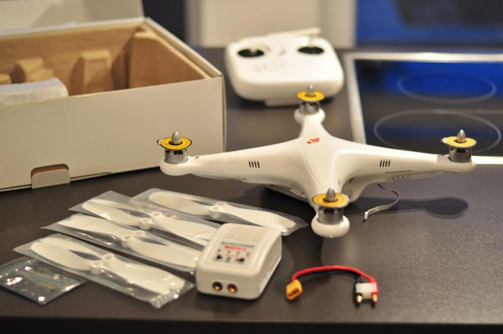 DJI Phantom 1 - Unboxing, Aufbau und Flug - RTF Modelle, DJI Phantom