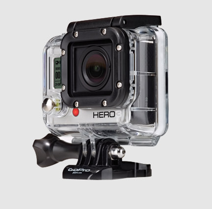GoPRO HD HERO3 WHITE Edition - gopro
