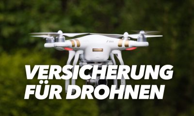 Versicherung für Drohnen -