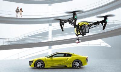 Rinspeed-Konzept: Sportwagen mit eigener Drohne - drohne