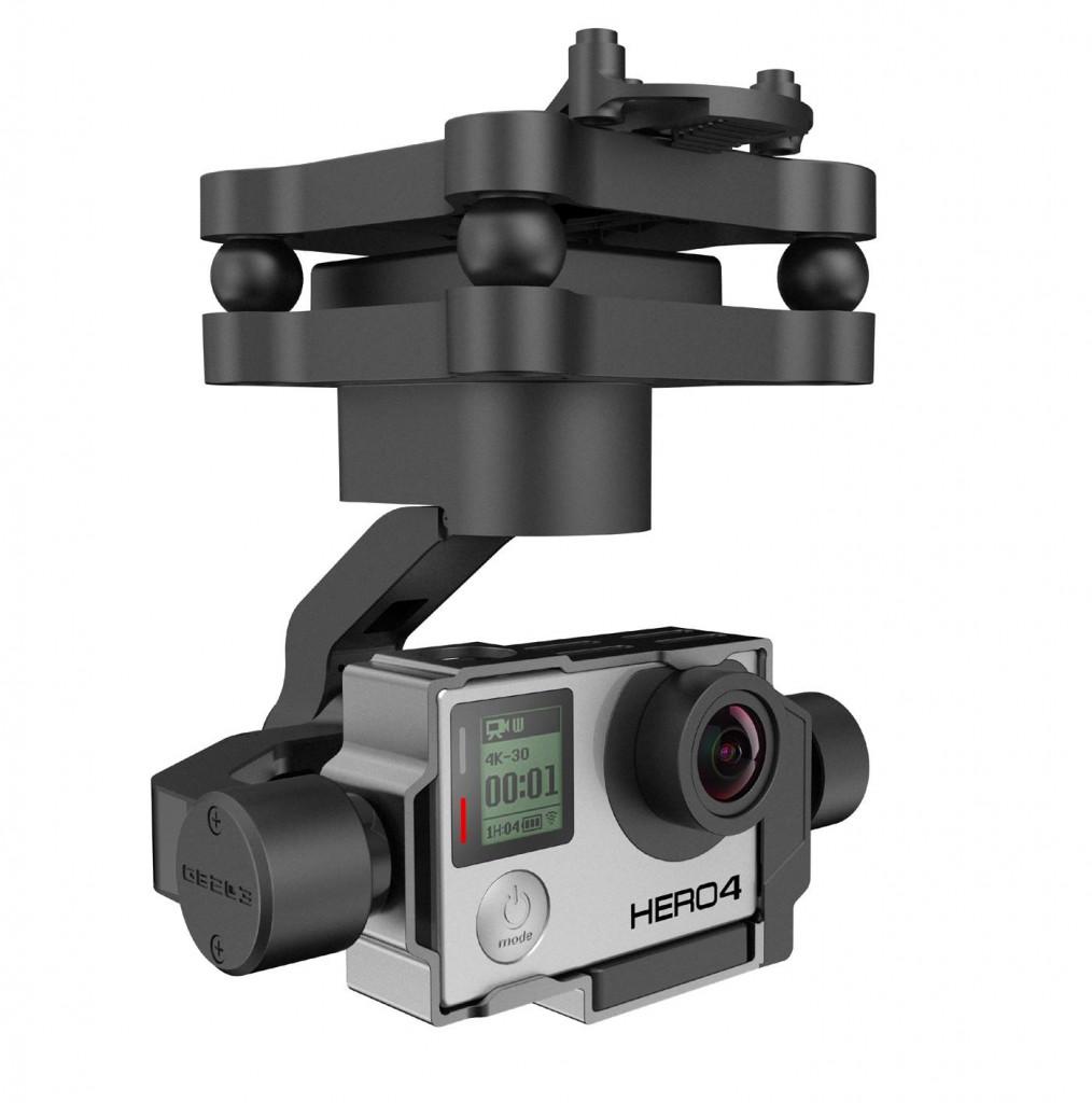 Yuneec GB203 - GoPro für JEDEN Yuneec Typhoon - Yuneec Multicopter