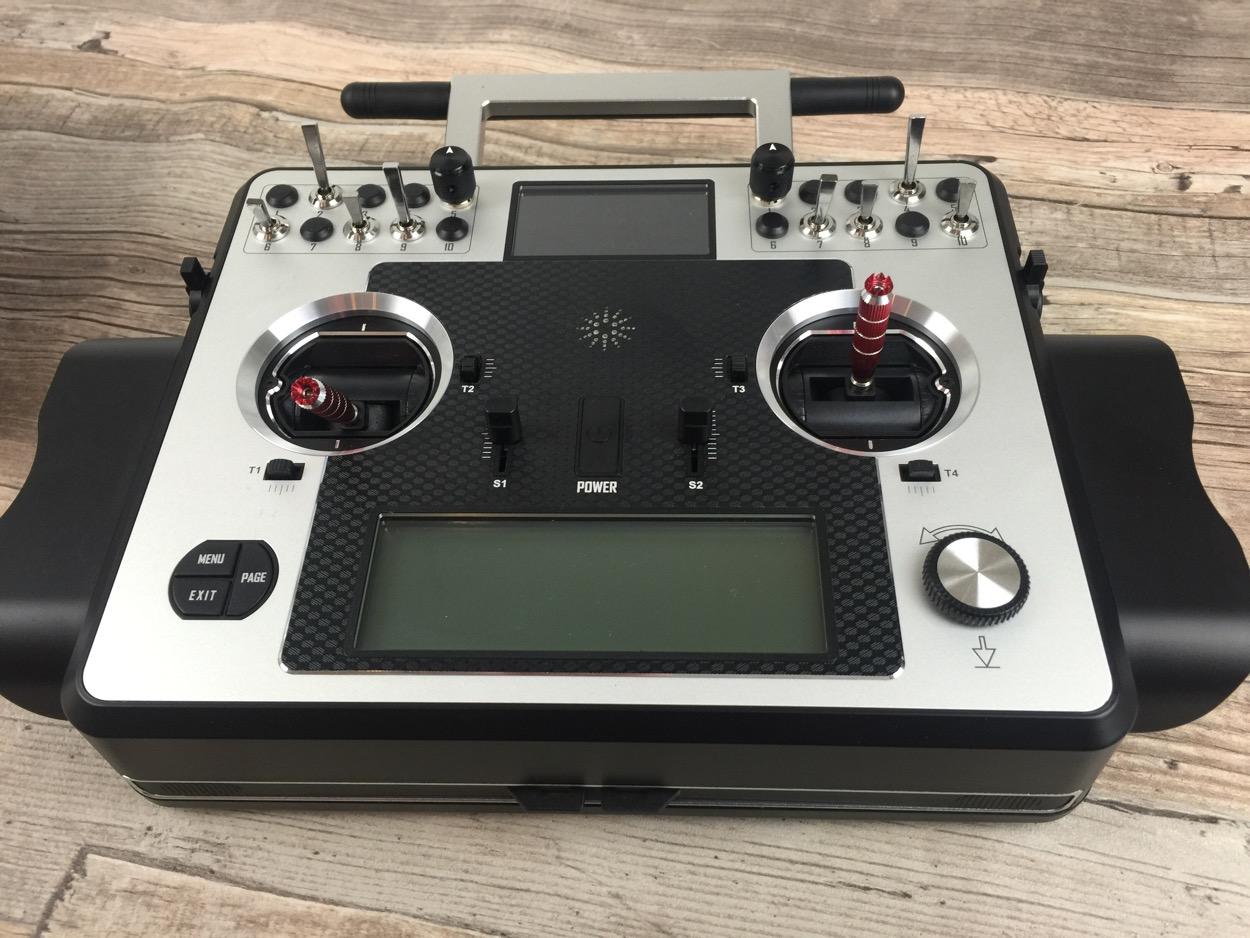 Taranis X9E gelandet - fernsteuerungen