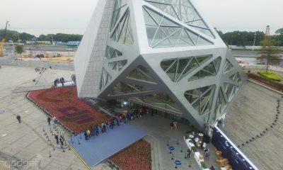 DJI hat nun in China einen eigenen Flaghip-Store - multicopter, drohne