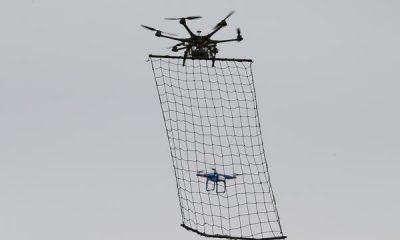 Tokios Polizei bekämpft Multicopter mit eigenem Multicopter - drohne
