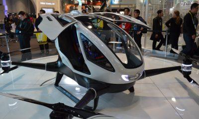 EHang 184: Konzept-Multicopter kann eine Person transportieren - multicopter, drohne
