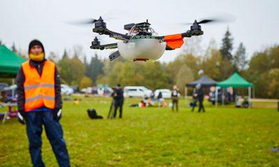 Intel stellt mit 100 Drohnen einen neuen Weltrekord auf -