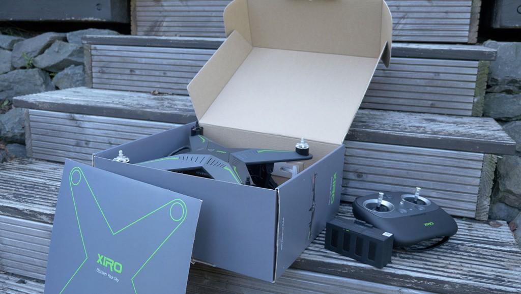 XIRO Xplorer V Test: Unboxing & Erster Eindruck - RTF Modelle