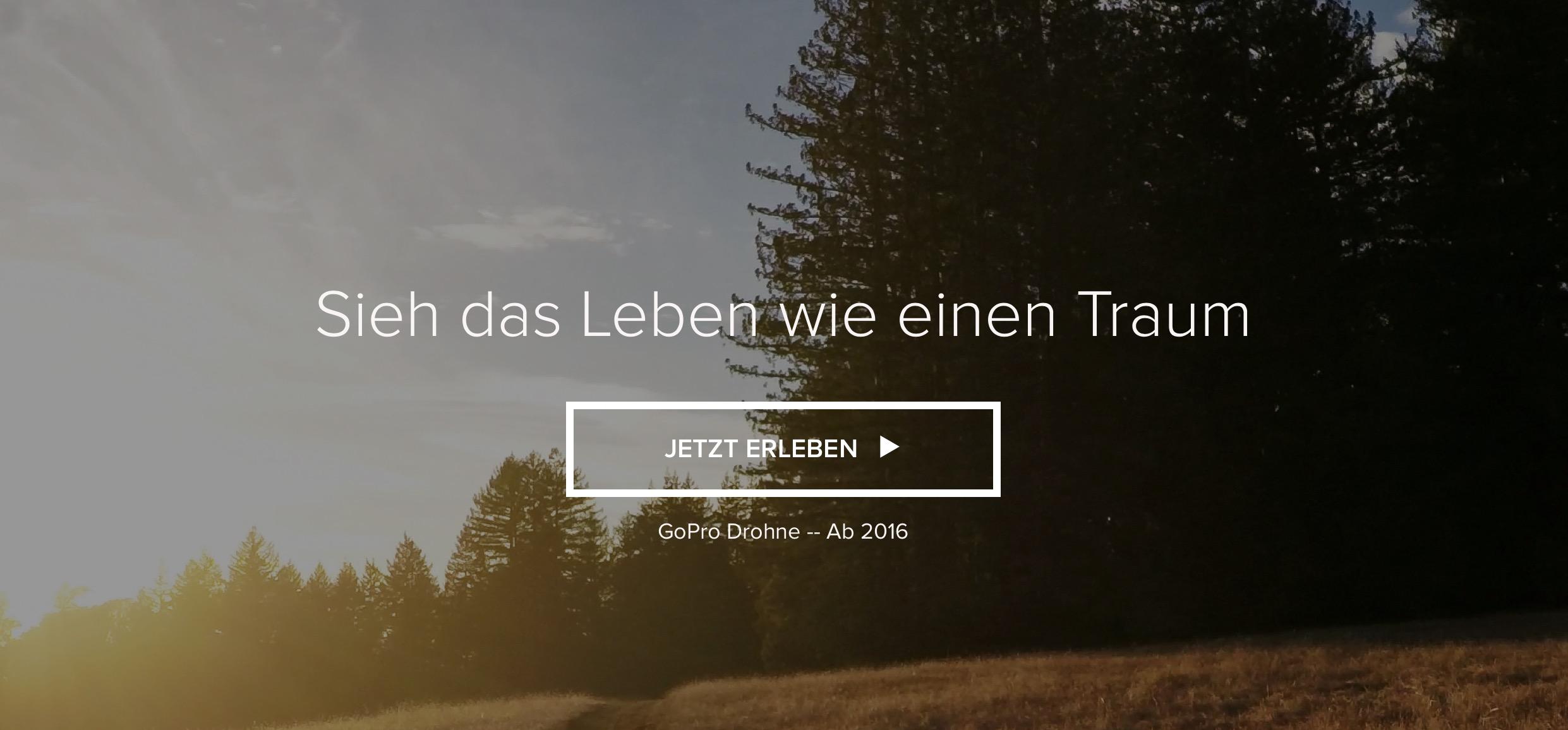 Launch der GoPro Drone verschoben - gopro, drohne