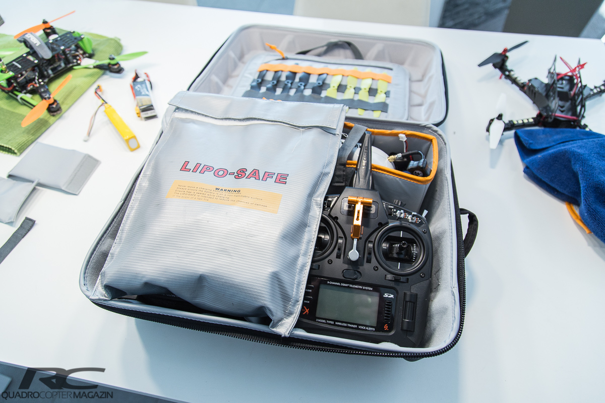 LowePro DroneGuard CS300 Test -