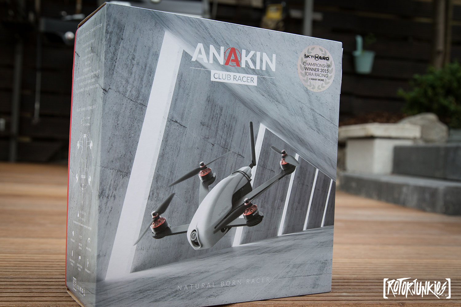Unboxing des Sky Hero Anakin Club Racer