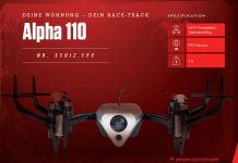 Graupner Alpha 110 - Nano FPV Quadrocopter