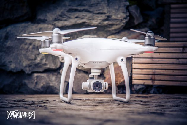 DJI Phantom4 unboxing und Test