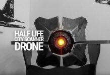 HalfLife City Scanner Drohne nachgebaut als quadrocopter
