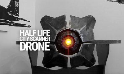Half-Life City Scanner-Drohne  nachgebaut -