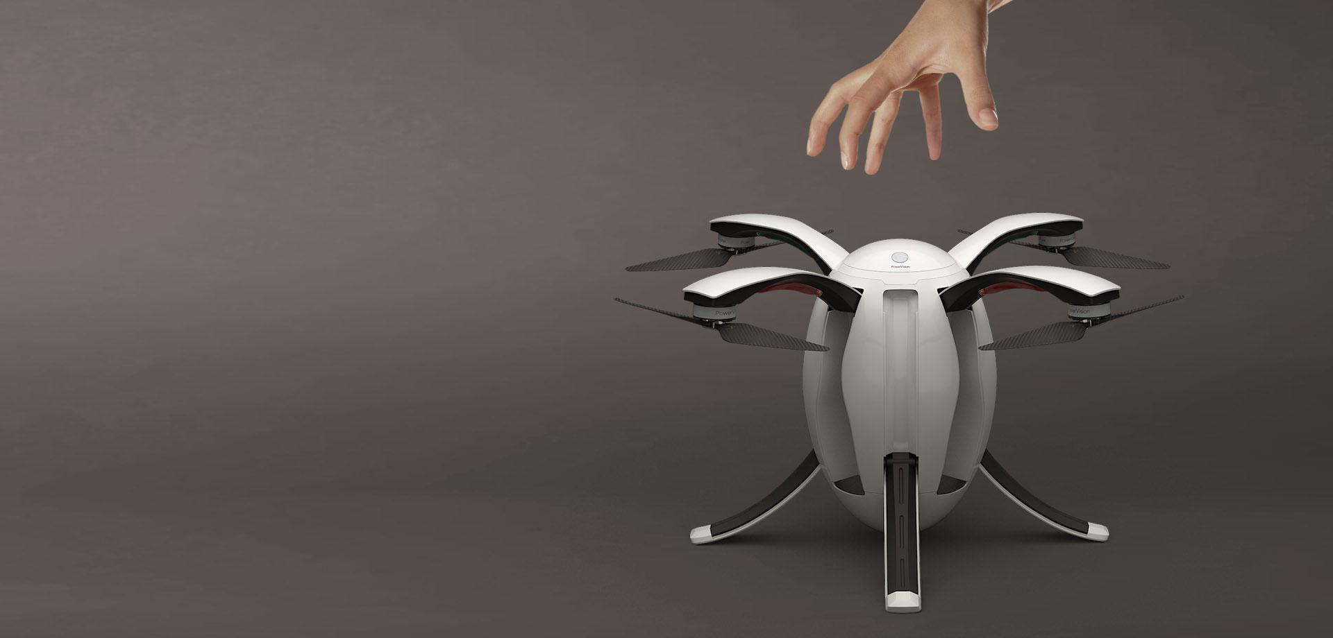 Poweregg - das fliegende EI von Powervision -