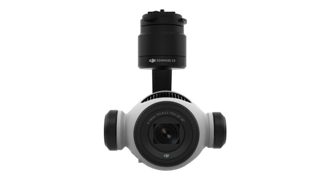 DJI Zenmuse Z3 - die ZOOM Kamera für Inspire1 -