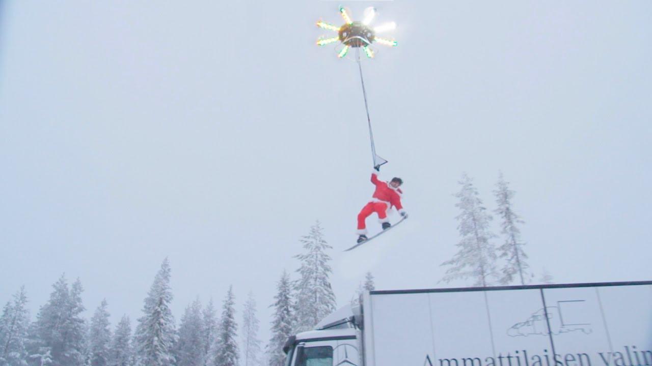 Casey Neistat fliegt. Die Human Flying Drone -