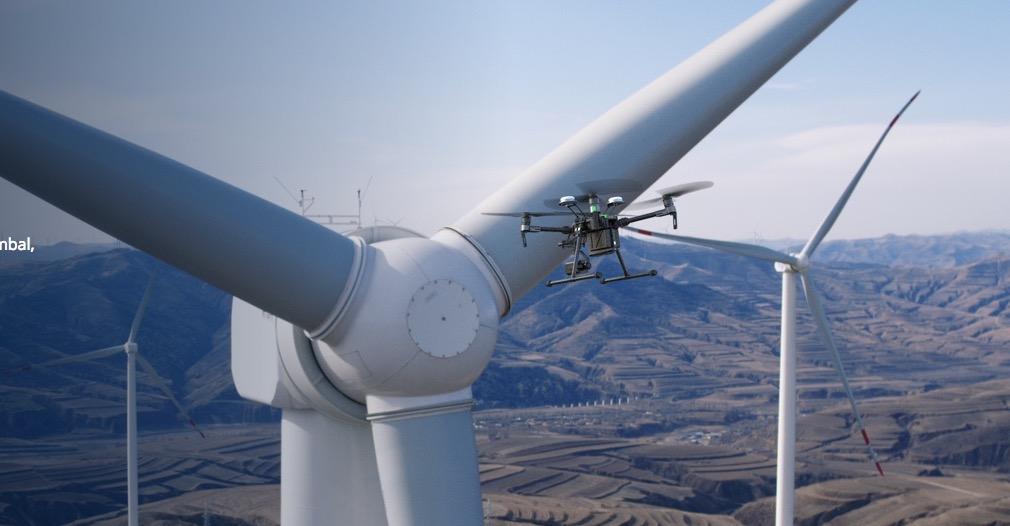 DJI Matrice 200 - Quadrocopter für industrielle Anwendungen -