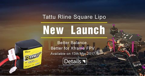 Neue Tattu Lipos für Racer und FatShark Videobrillen -
