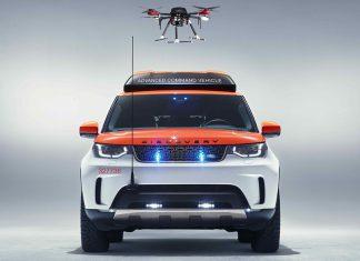 Land Rover Project Hero - Drohne mit Land Rover zum Rettungseinsatz