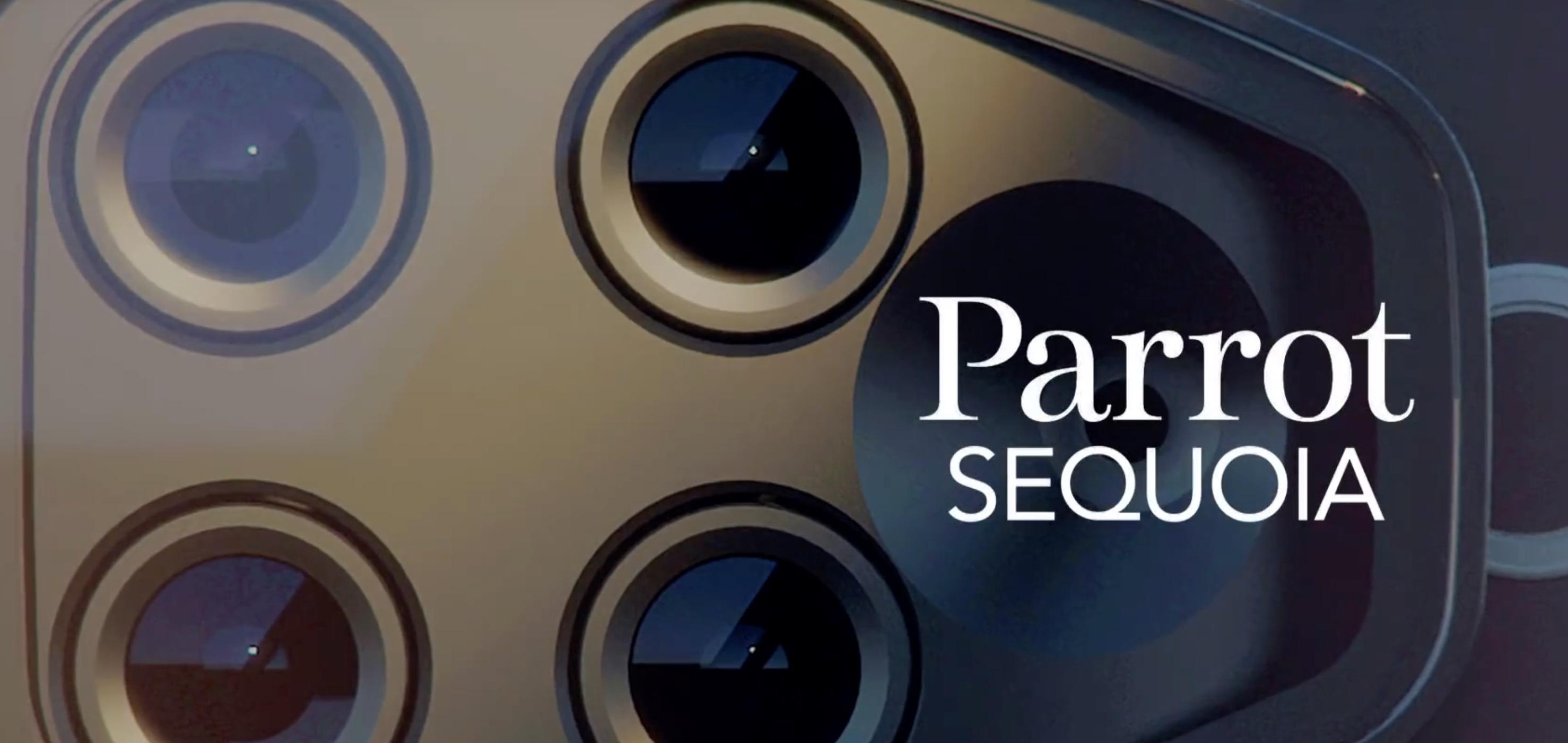 Landwirtschaft 2.0 - Parrot Sequoia Multispektralkamera -