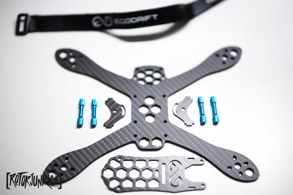 Egodrift BlackPearl Unibody Frame & Setup - Frames