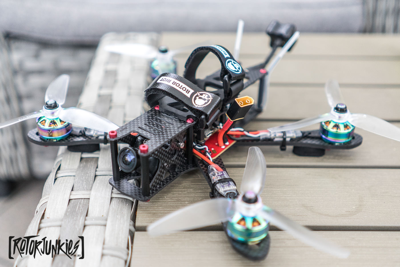 "ImpulseRC Alien 5"" RotorRiot Edition Frame - Frames, fpv freestyle"