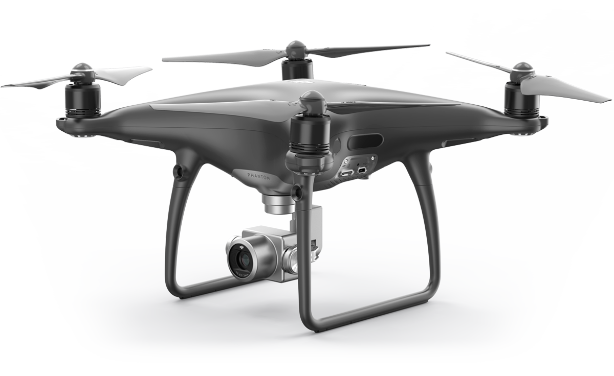 DJI Phantom in schwarz