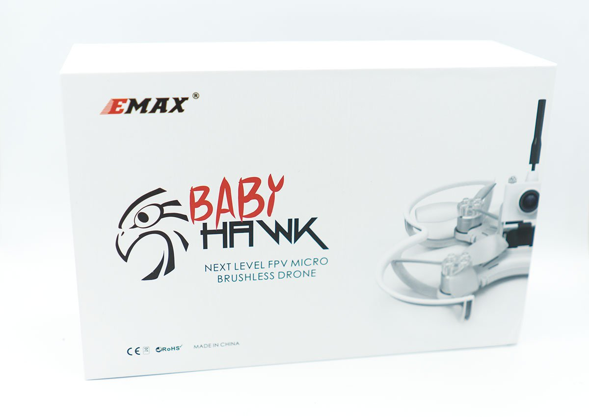 Emax Babyhawk 85mm 2S Race Quad im Test -