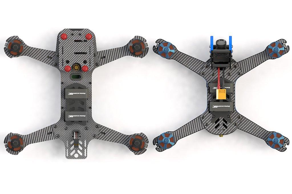 ImmersionRC Vortex 230 Mojo - neuer ARF Racer vorgestellt - RTF Modelle, fpv freestyle