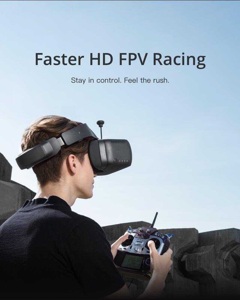 DJI Racing Edition OcuSync - neue Brille und HD FPV -