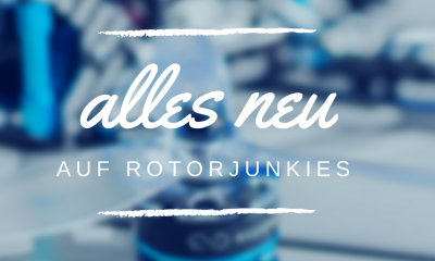 NEWS: Aus rc-quadrocopter.de wird Rotorjunkies! -