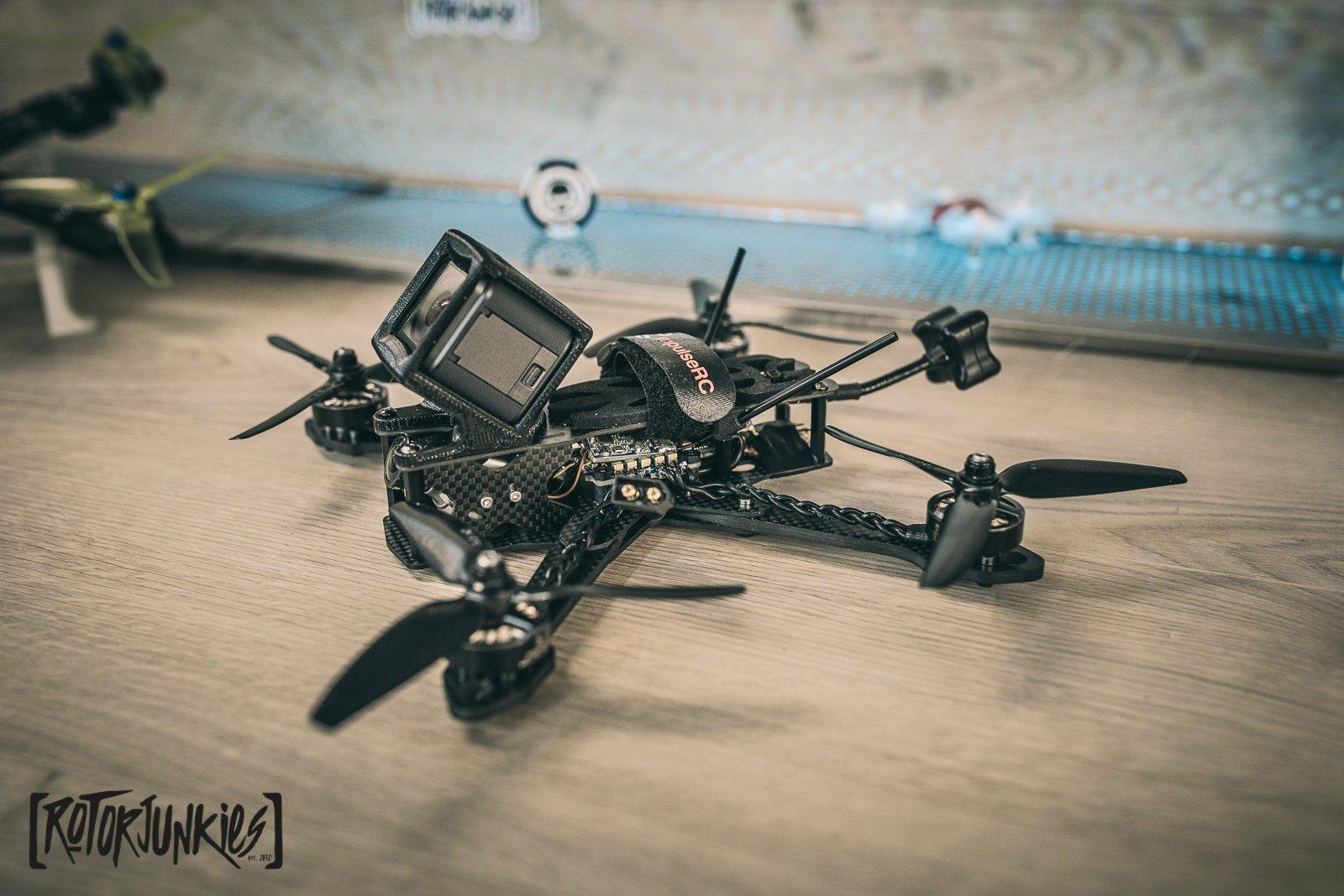 ImpulseRC Reverb Freestyle Frame Test & Build - rotor riot, Frames