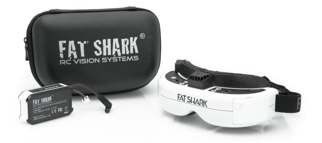 FatShark HDO - neue OLED FPV Brille -