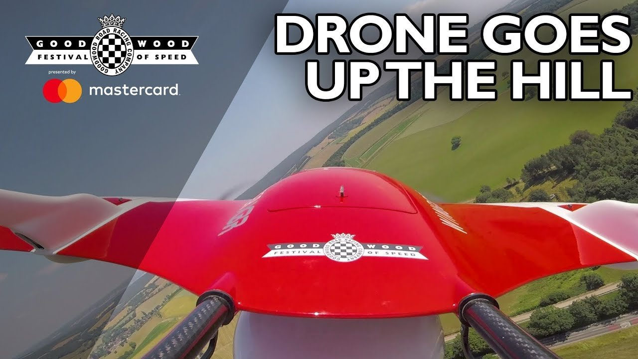Goodwood Festival of Speed - Wingcopter XBR Drone -