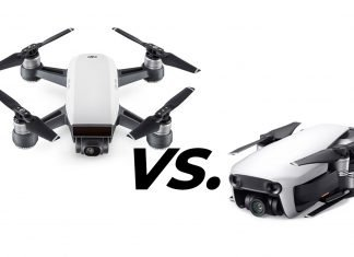 DJI Spark vs. Mavic Air - die beste Einsteigerdrohne