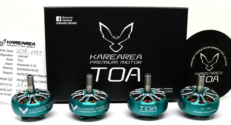 Karearea Motor Debut - der TOA 2306 -