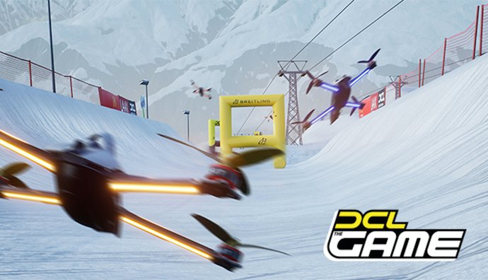 DCL - The Game: FPV Drone Racing Simulator gestartet -