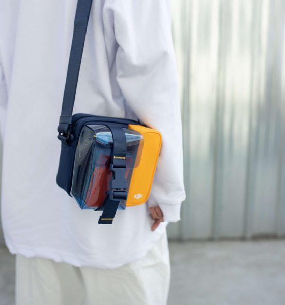 DJI Mini Umhängetasche für Mavic in blau gelb
