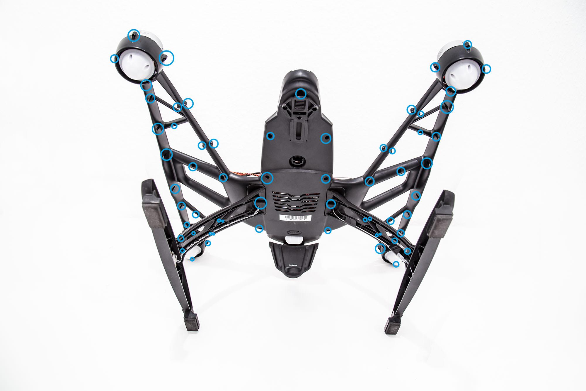 Update: Yuneec Q500 aufgeschraubt! - Yuneec Multicopter