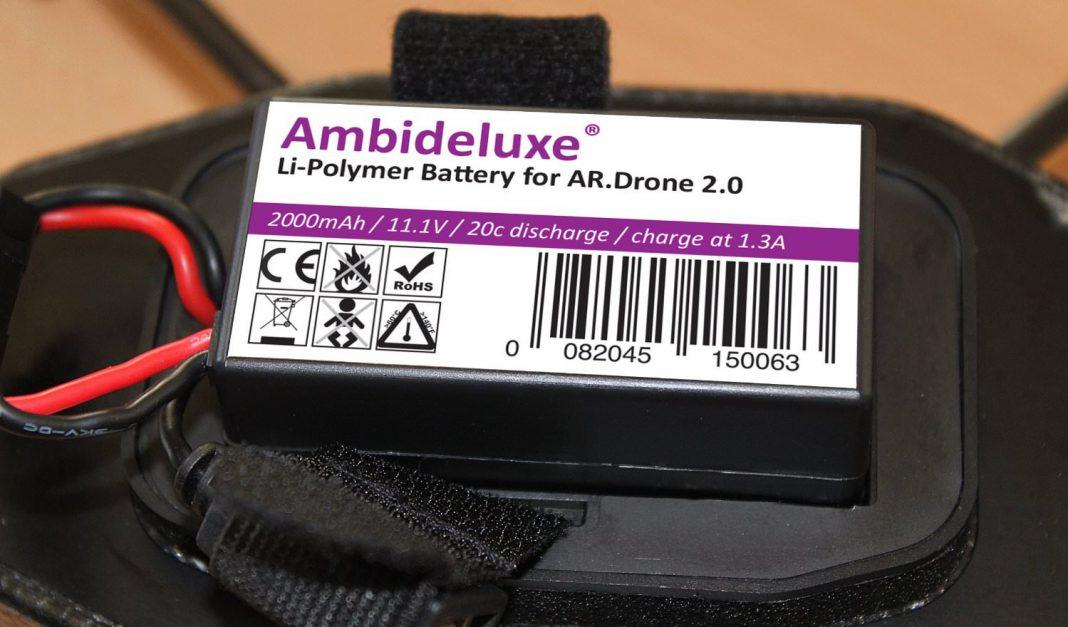 20 Minuten Flugzeit - AR Drone Tuning akku