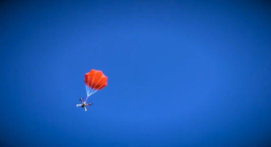MARS Fallschirm Quadrocopter Multicopter
