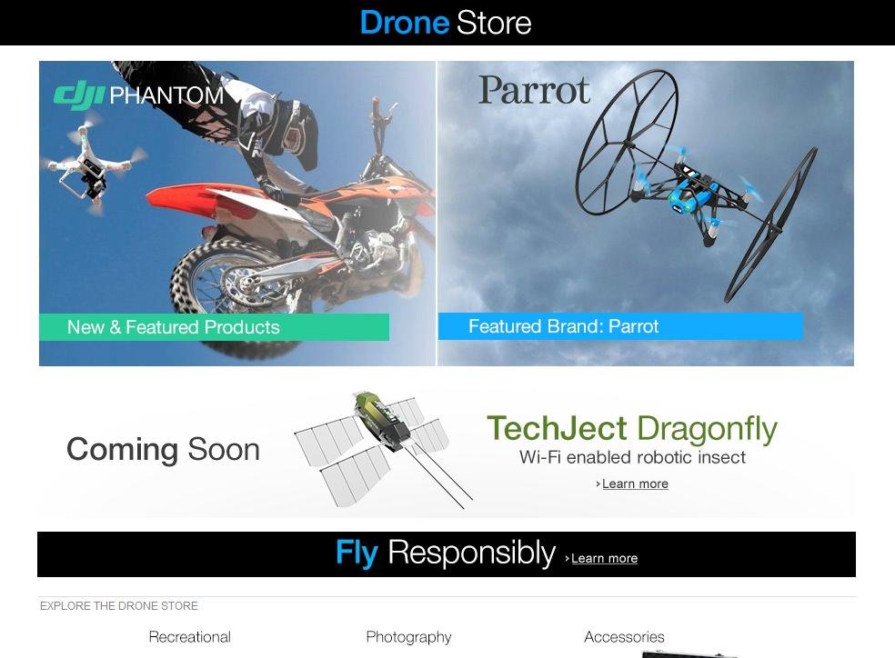 Amazon Drone Store -