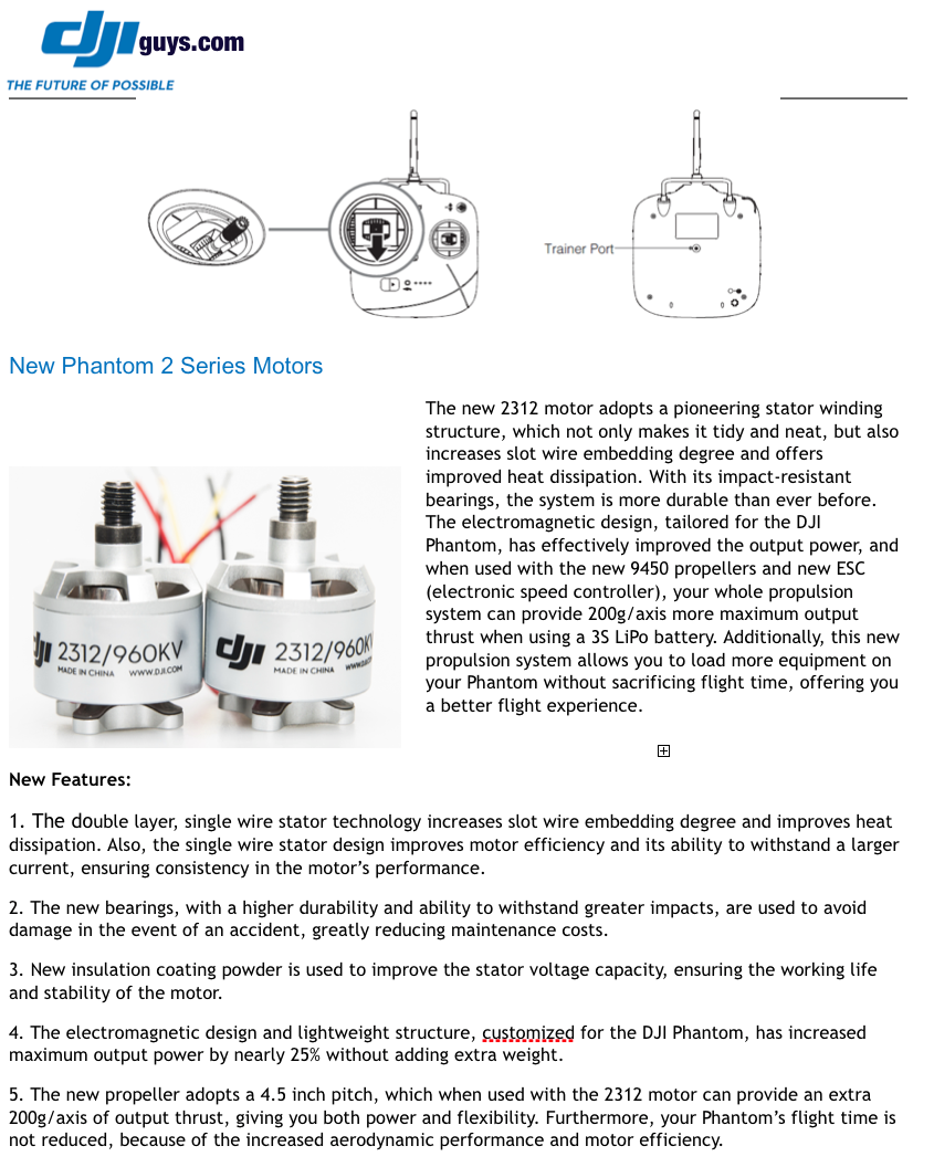 DJI Phantom 2 Update: Neue Fernsteuerung und 960kv Motoren angekündigt - DJI Phantom