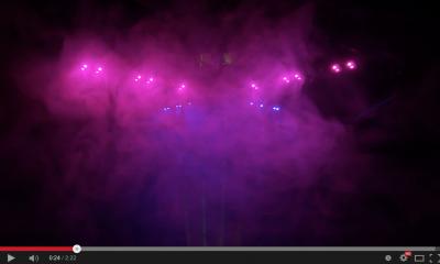 MWC RGB Light mit Nebel - cool inszeniert -